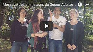 VIDEO présentation séjour adultes du 02 août au 12 août 2018 – CAP FERRET
