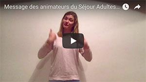 VIDEO présentation séjour adultes du 12 août au 22 août 2018 – CAP FERRET